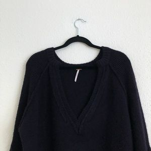 Free People Sweaters - Free People Lovely Lines Bell Sleeve Sweater Sz XS